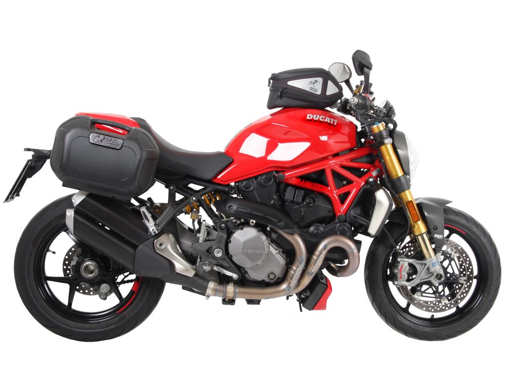 ducati monster 1200 s from 2017 motorcycle accessories and soft or hard luggage from hepco becker. Black Bedroom Furniture Sets. Home Design Ideas