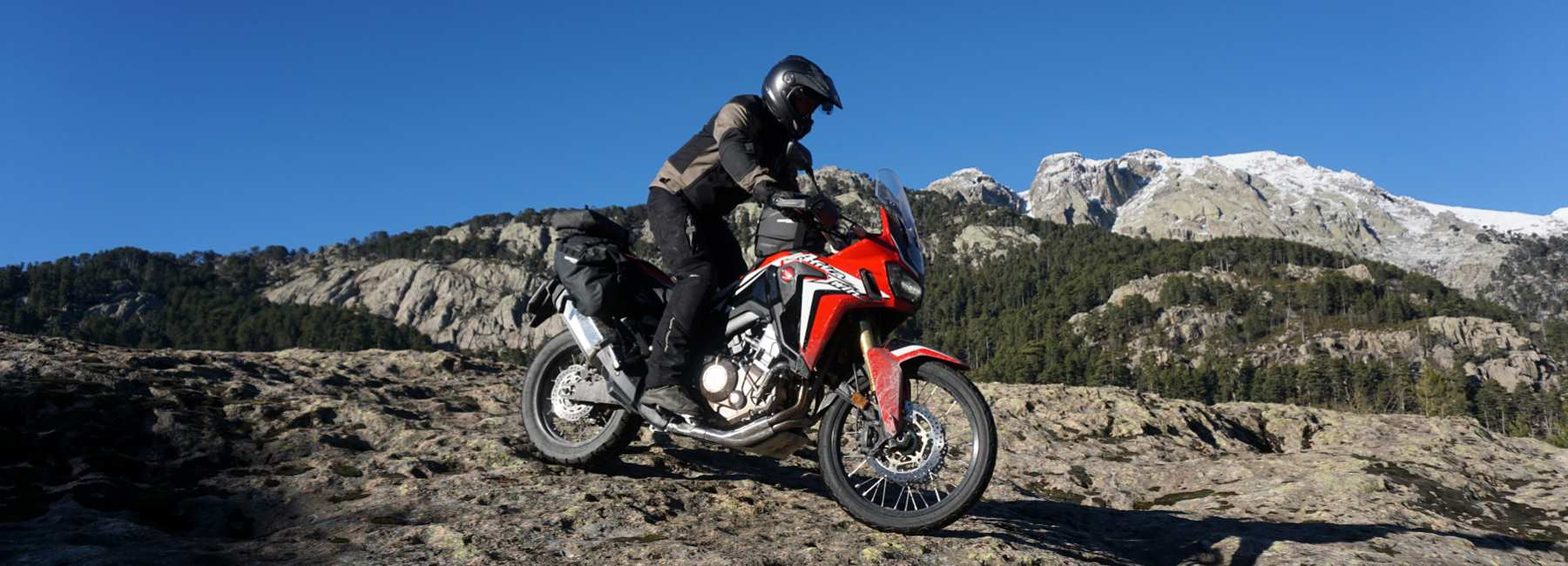 We can setup your bike for great adventures!