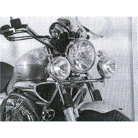 Twinlight-Set Moto-Guzzi Nevada Classic V 750 ie / 2004-2009