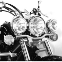 Twinlight-Set Honda VT 750 Shadow Spirit