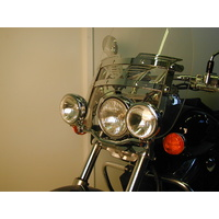 Twinlight-Set Honda VT 750 Shadow / 2008 on - model with screen