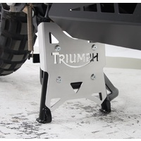 Centrestand protection plate Triumph Tiger Explorer 1200