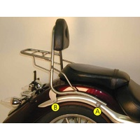 Sissybar no rear rack Yamaha XV 1900 Midnight Star