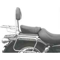 Sissybar with rear rack Honda VT 125 C2 Shadow