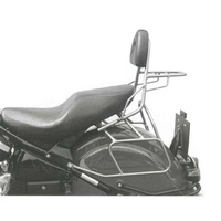 Sissybar with rear rack Kawasaki VN 1500 Drifter