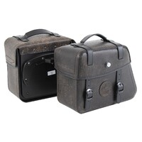 Leatherbag set Rugged 24ltr. C-Bow - brown 24/24 Lt