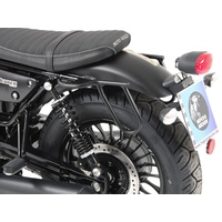 Leatherbag holder cutout Moto-Guzzi V9 Roamer / Bobber