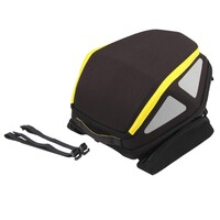 Royster Rearbag with straps /yellow 27-32 Lt