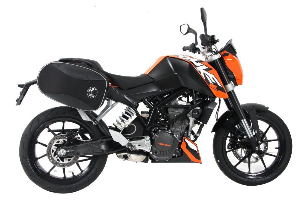 For KTMs 390 Duke from 2013 to 2016, we offer Hepco & Becker motorcycle accessories, luggage and more.  All available in Australia from Motorcycle Adventure Products
