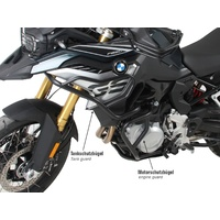 Tank guard BMW F750GS only black