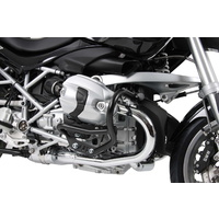 Engine guard BMW R1200R 2011 on black