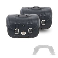 Leatherbag set Liberty Big C-Bow 28/28 Lt