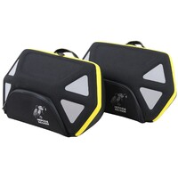 C-bow bag set Royster 22 ltr. with yellow zip